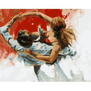 Полет танца Раскраска картина по номерам на холсте PK51037