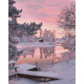 Фалун, Швеция Раскраска картина по номерам на холсте