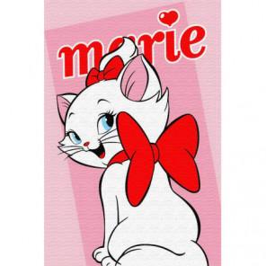 Кошечка Мари Раскраска картина по номерам на холсте