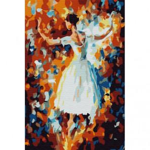 Танец осени Раскраска картина по номерам на холсте