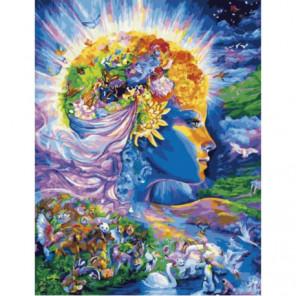Покровительница природы Раскраска картина по номерам на холсте