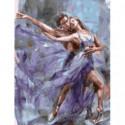 Парный балет Раскраска картина по номерам на холсте
