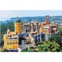 Дворец Пена Синтра в Португалии Раскраска картина по номерам на холсте