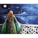 Турецкая принцесса Раскраска картина по номерам на холсте