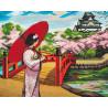 Японский сад Алмазная вышивка мозаика Алмазное Хобби AH5391