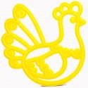 Курочка Ряба Форма для печенья и пряников В58