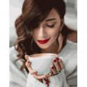 Согревающий кофе Раскраска картина по номерам на холсте