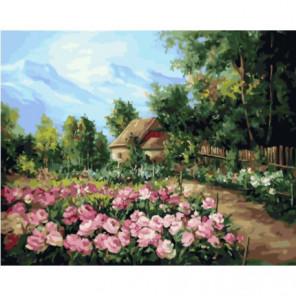 Деревенские посадки Раскраска картина по номерам на холсте