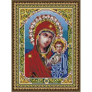 Икона. Богородица с младенцем Алмазная вышивка мозаика на подрамнике EQ10207