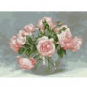 Розовая симфония. Бузин Раскраска картина по номерам на холсте KK0661