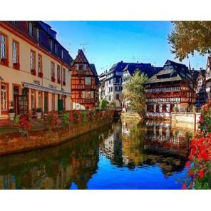 Страсбург Раскраска картина по номерам на холсте GX34391