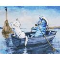 Свидание Раскраска картина по номерам на холсте GX29800