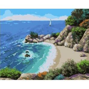 Малая бухта Раскраска картина по номерам на холсте GX33299
