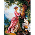 Цифра любви Раскраска картина по номерам на холсте EX6073