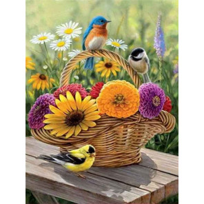Краски лета Раскраска картина по номерам на холсте EX6279