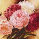 Оттенки розового Раскраска картина по номерам на холсте KH0715