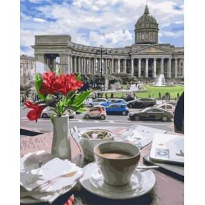Сложность и количество цветов Казанский кафедральный собор Раскраска картина по номерам на холсте MCA828