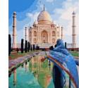 Красота Тадж-Махала Раскраска картина по номерам на холсте MCA801