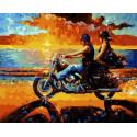 Мечте навстречу Раскраска картина по номерам на холсте MCA803