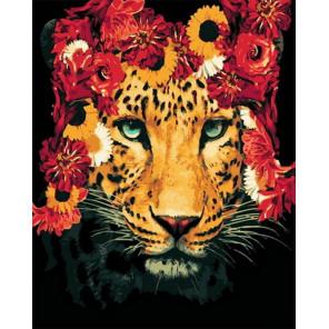 Корона из цветов Раскраска картина по номерам на холсте MCA883