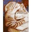 Мурчу тобою/ Два кота Раскраска картина по номерам на холсте PK59010