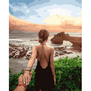 Следуй за мной. Бали Раскраска картина по номерам на холсте GX30370