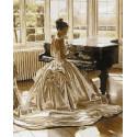 У рояля Раскраска картина по номерам на холсте GX26509