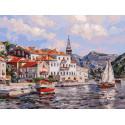 Черногория Раскраска картина по номерам на холсте 349-AS