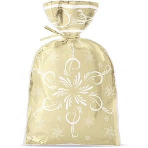 Блеск и веселье золото Набор подарочных пакетов 8 шт Wilton ( Вилтон )