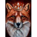 Король лис Алмазная вышивка мозаика Гранни AG2442