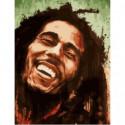 Боб Марли Раскраска картина по номерам на холсте