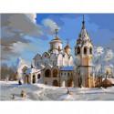 Суздаль. Покровский собор Раскраска картина по номерам на холсте