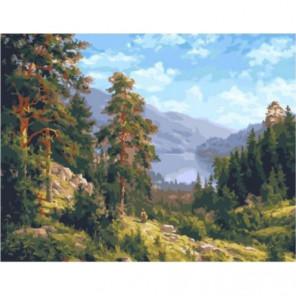 Воспоминание о Сибири Раскраска картина по номерам на холсте