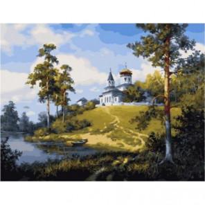 Под Звенигородом Раскраска картина по номерам на холсте