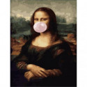 Шалости Моны Лизы Раскраска картина по номерам на холсте