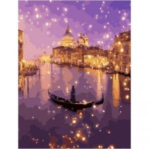 Мерцание Венеции Раскраска картина по номерам на холсте