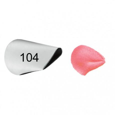 №104 Цветочный лепесток Насадка для кондитерского мешка Wilton ( Вилтон )