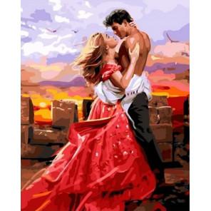 Красивые картины о любви Раскраска картина по номерам на холсте GX36106