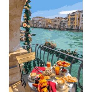 Завтрак у воды Раскраска картина по номерам на холсте GX29701