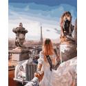 Следуй за мной.Франция Раскраска картина по номерам на холсте GX31942