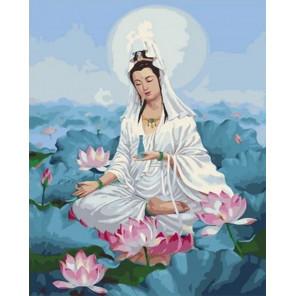 Богиня Гуань инь Раскраска картина по номерам на холсте GX35777