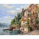 Лето в Италии Раскраска картина по номерам на холсте 267-AB