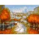 Осенняя симфония Раскраска картина по номерам на холсте 348-AS