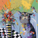 Ожидание Раскраска картина по номерам на холсте AAAA-KT1-80x80