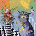 Ожидание Раскраска картина по номерам на холсте AAAA-KT1-100x100