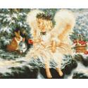 Лесной ангел Раскраска картина по номерам на холсте ZX 23604