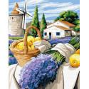 Урожай Прованса Раскраска картина по номерам на холсте ZX 23723