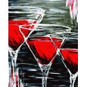 Три Кровавых Мэри Раскраска картина по номерам на холсте ZX 23842