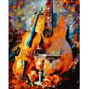Творческий вечер Раскраска картина по номерам на холсте ZX 23707