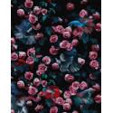 Цветочная стена Раскраска картина по номерам на холсте ZX 23864